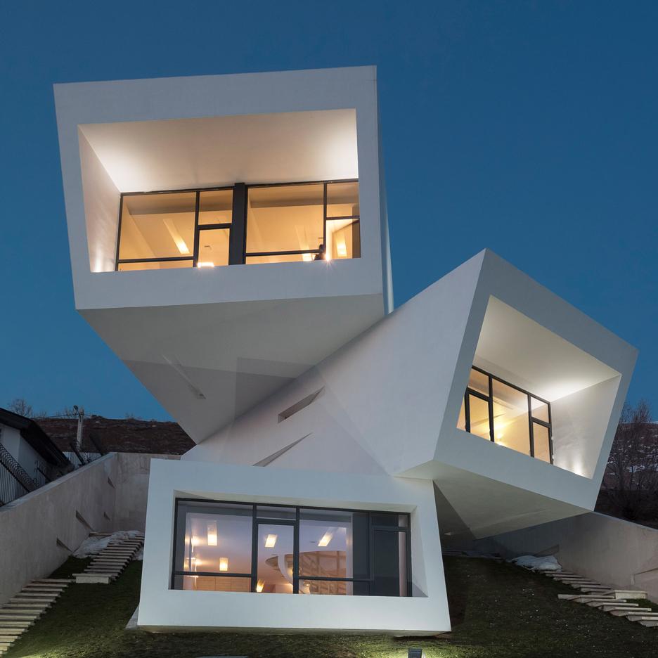 2- ساختمان های موج جدید معماری ایران